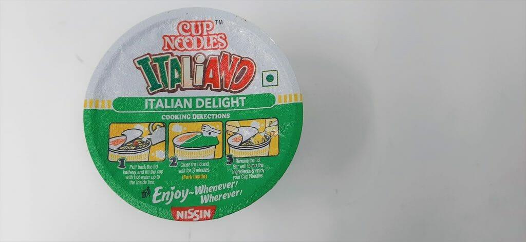 कप नूडल्स इटालियानो - पकाने की विधि