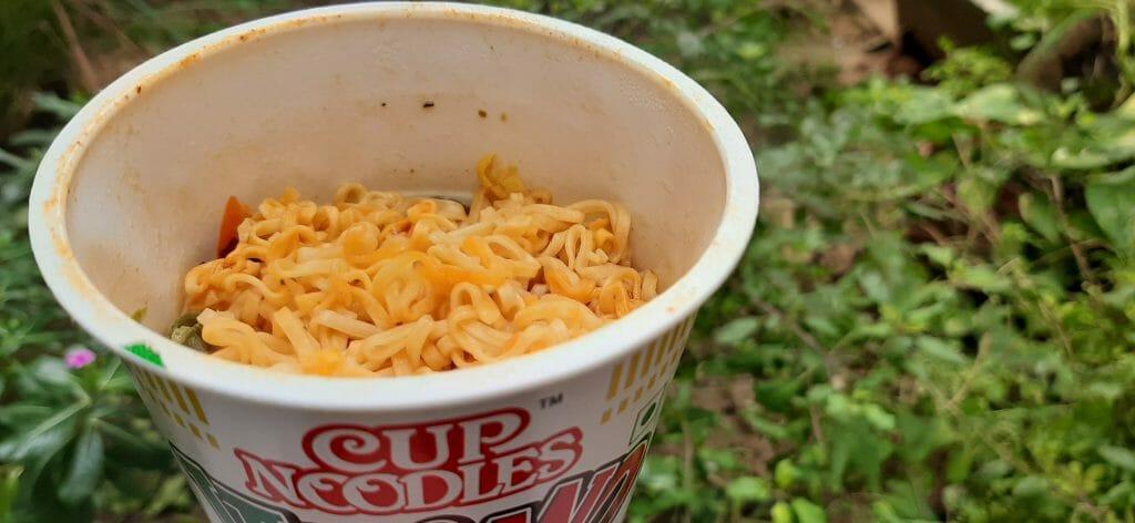 कप नूडल्स इटालियानो - रिजल्ट