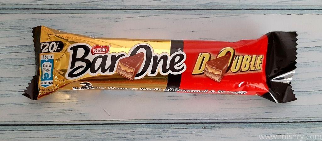 नेस्ले बार वन चॉकलेट डबल - पैकेजिंग