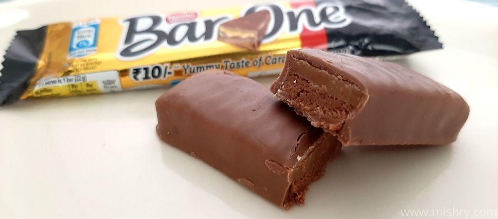 नेस्ले बार वन चॉकलेट रिव्यू