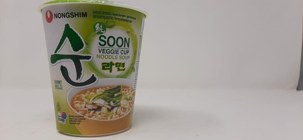 नोंगशिम सून नूडल सूप - कीमत और पैकेजिंग