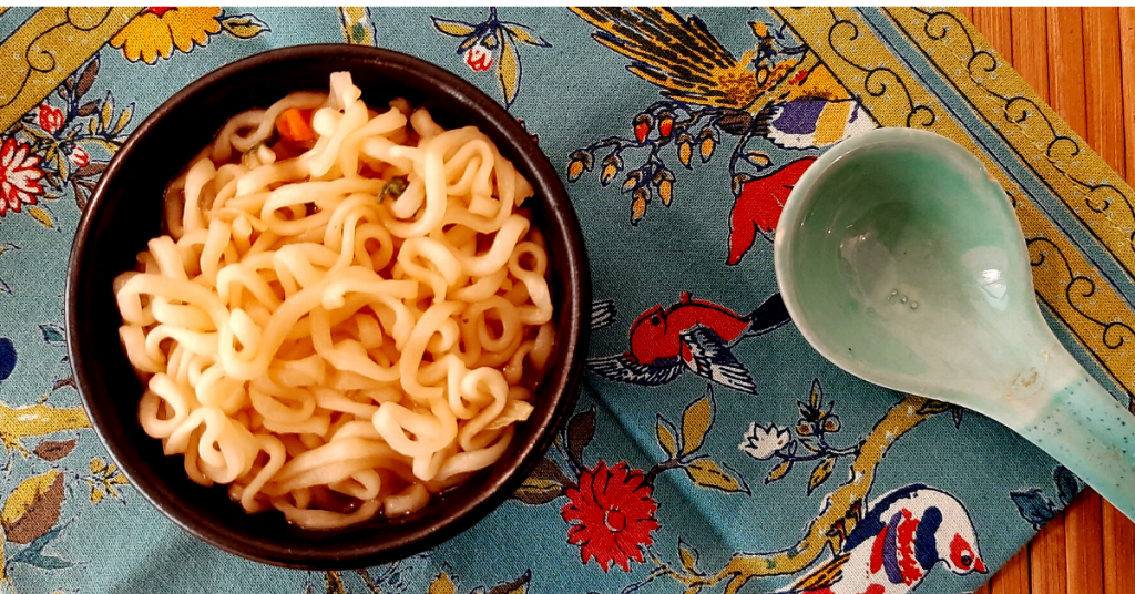 नोंगशिम सून नूडल सूप (वेजी)