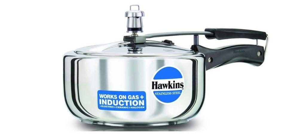 हॉकिन्स स्टेनलेस स्टील प्रेशर कुकर 3 लीटर रिव्यू