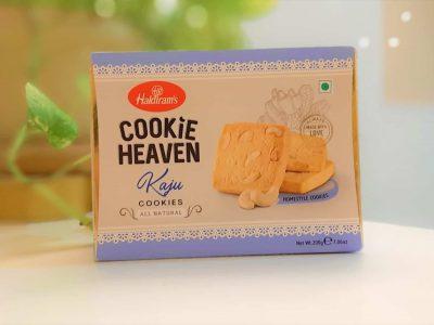 Haldiram's Cookie Heaven Kaju Cookies-mishry
