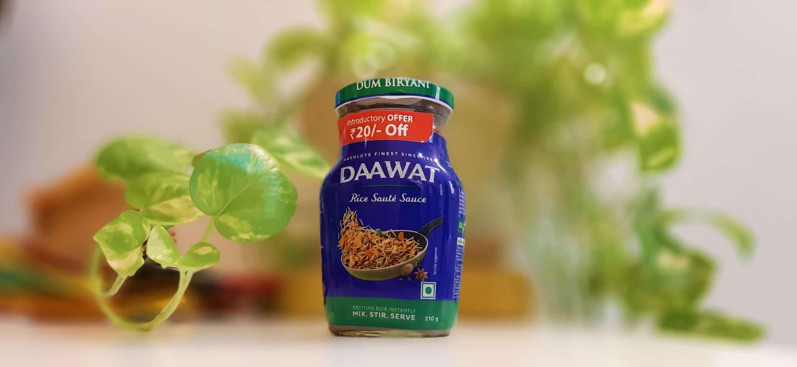 Daawat's Rice Sauté Sauce (Dum Biryani)-mishry