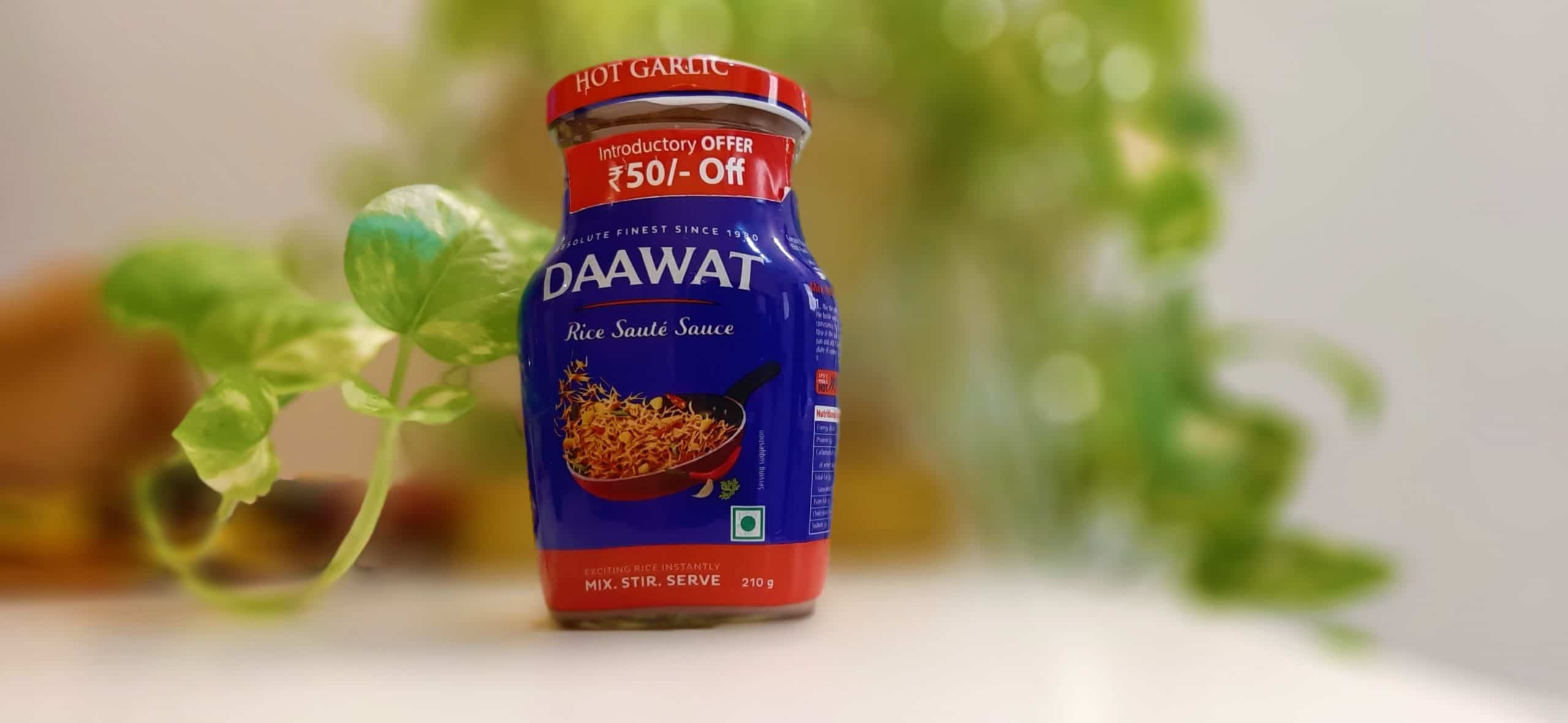 Daawat Rice Sauté Sauce Hot Garlic-mishry