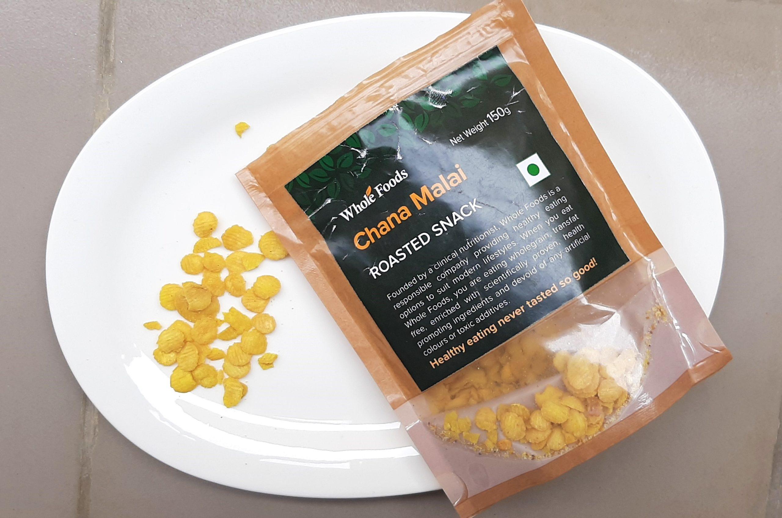 Whole Foods Chana Malai Roasted Snack-mishry