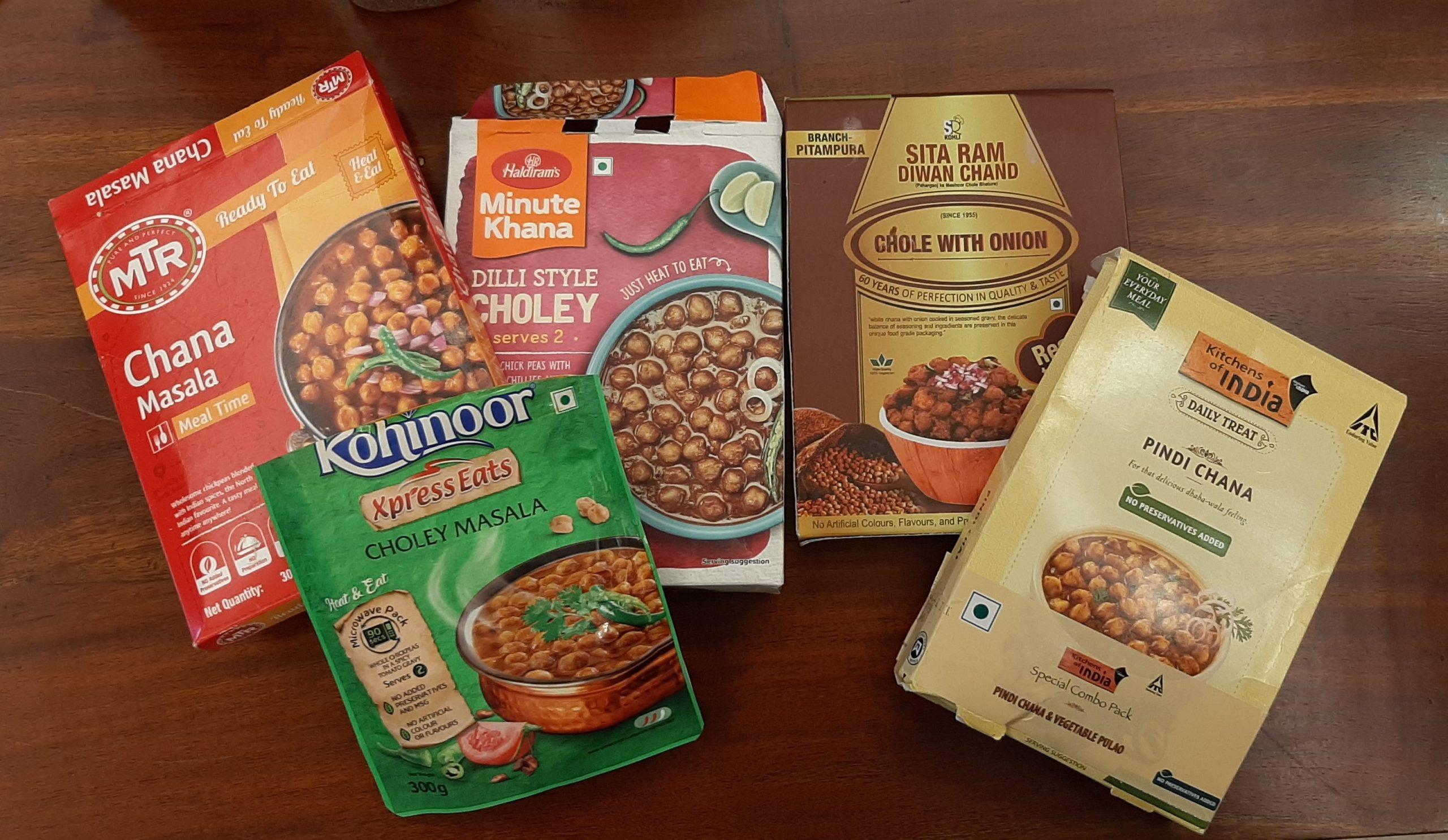 Ready-To-Eat Chana Masala-mishry