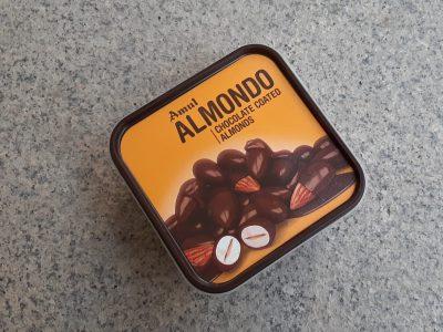 amul almond chocolate-mishry