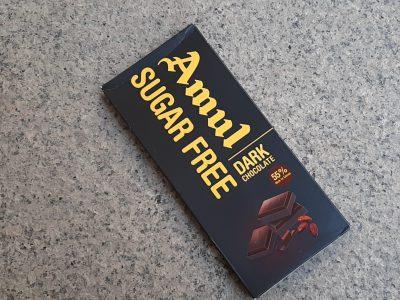 amul sugar free chocolate