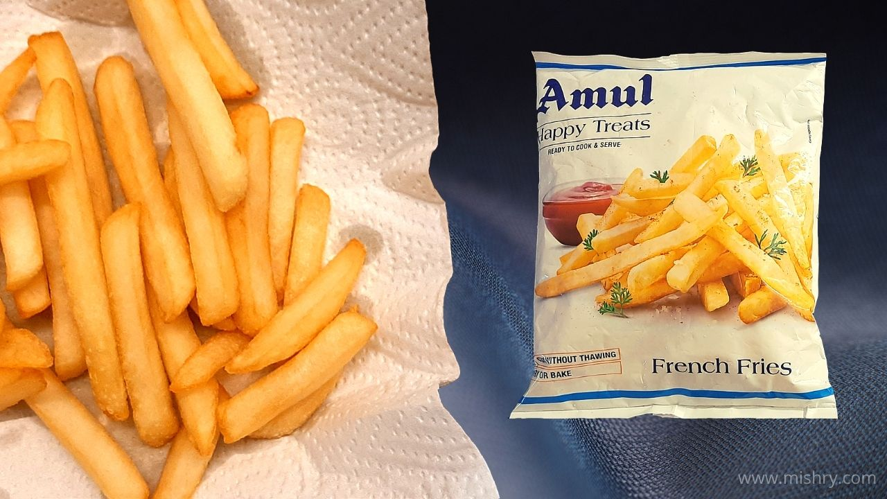 Amul French Fries Review