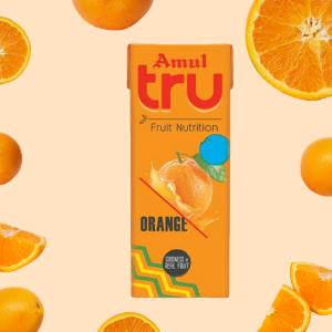 Amul-Tru - orange flavor