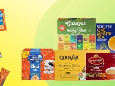 Best Instant Masala Chai Premix Brands in India