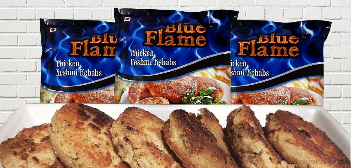 Blue Flame Chicken Reshmi Kebab Review
