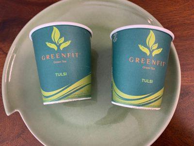 GreenFit Green Tea Paper Cup