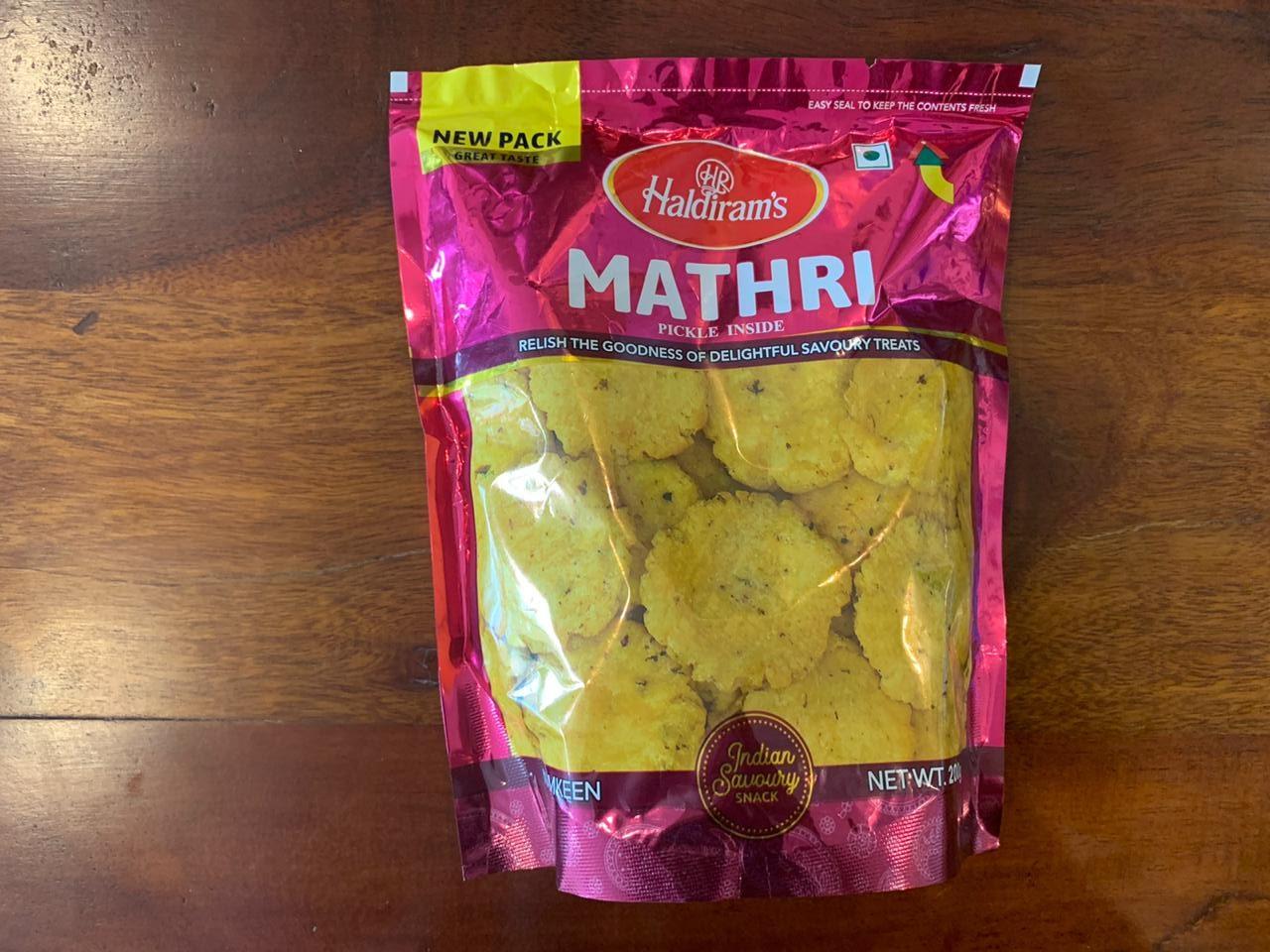 Haldirams-Mathri