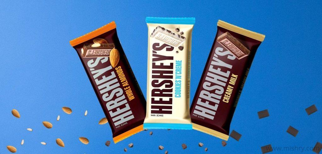 Hershey's Chocolate Bars Review