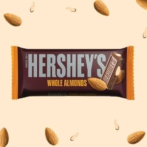 Hersheys-whole almonds