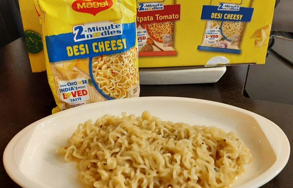 Maggi 2-Minute Noodles – Desi Cheesy
