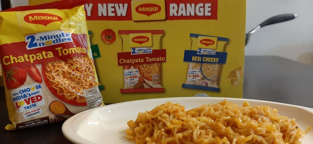 Maggi 2-Minute Noodles Chatpata Tomato