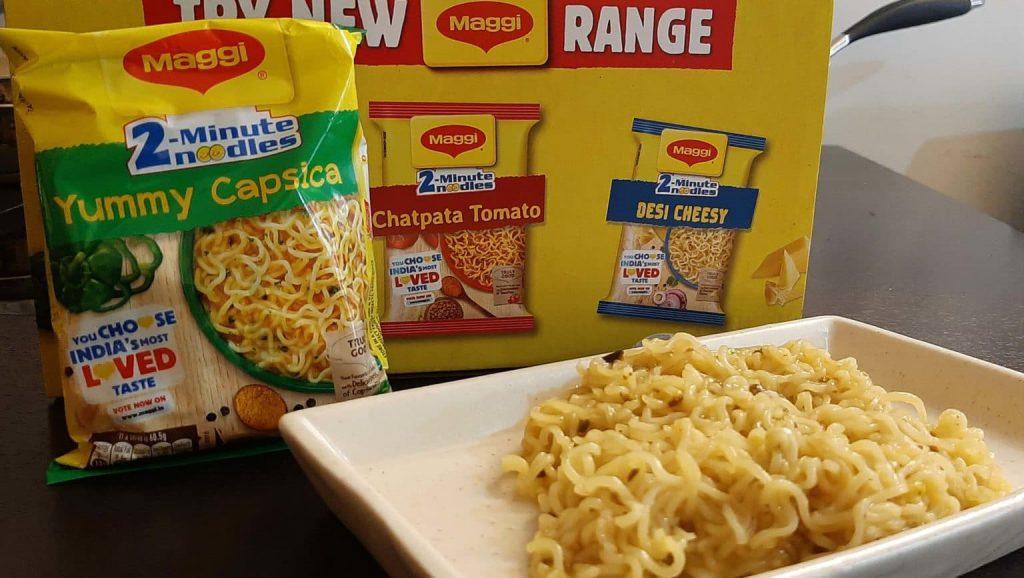 Maggi 2-Minute Noodles Yummy Capsica