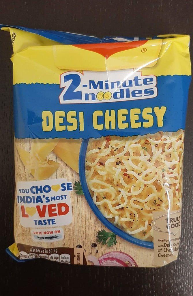 Maggi Desi Cheesy