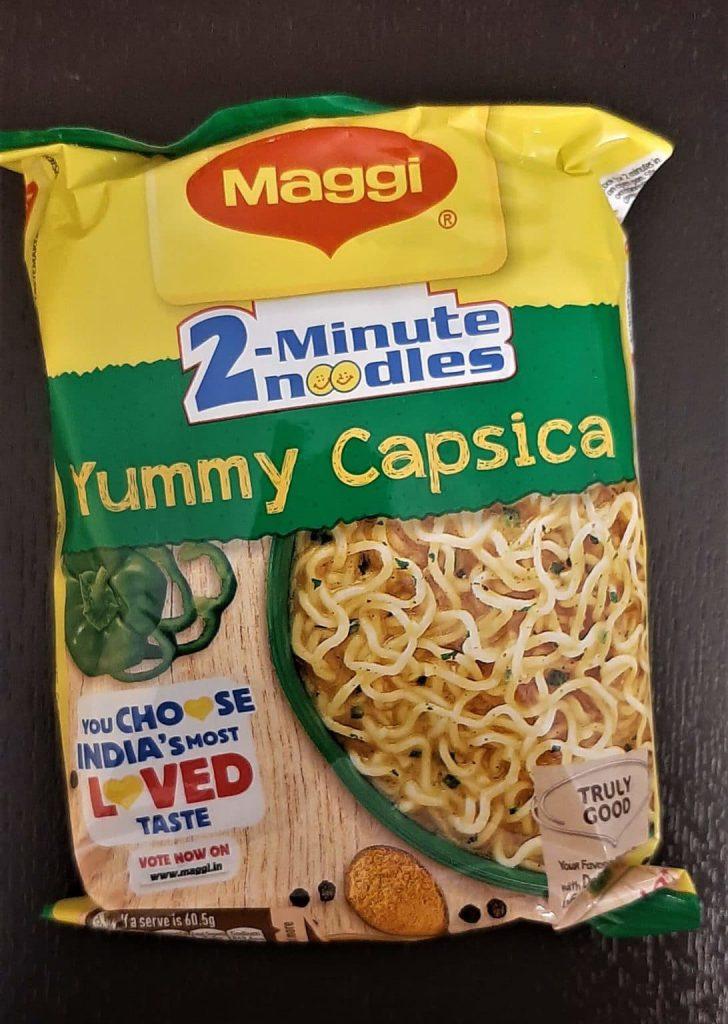 Maggi Yummy Capsica