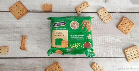 McVitie's Wholewheat 5 Grain Cracker