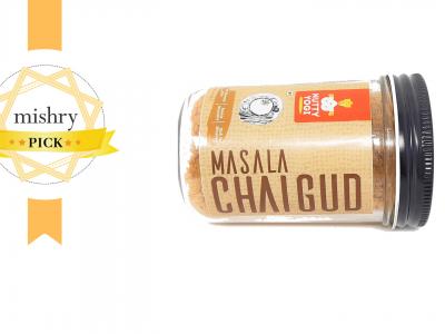 Nutty Yogi Masala Chai Gud-mishry