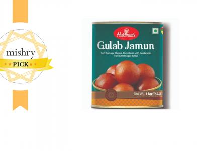 Haldiram's Gulab Jamun-mishry
