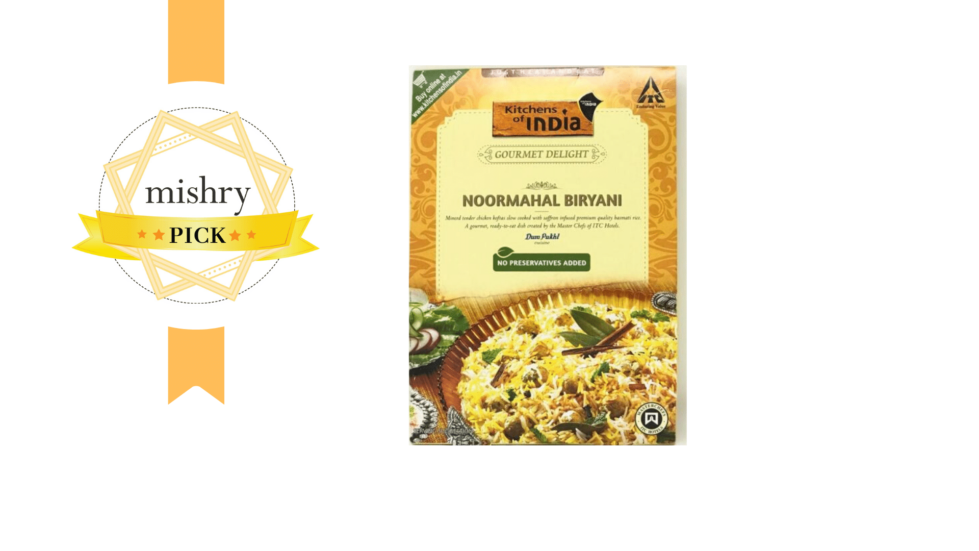Kitchens' Of India's Noormahal Biryani-mishry