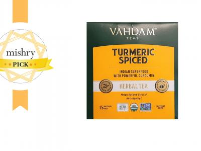 Vahdam Turmeric Spiced Tea-mishry