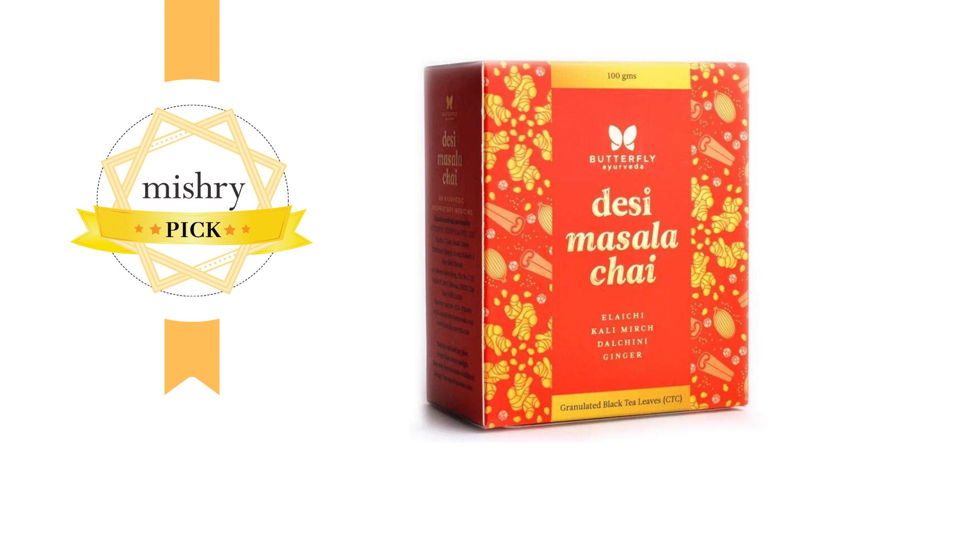 Butterfly Ayurveda's Desi Masala Chai-mishry