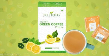 Neuherbs Instant Green Coffee Premix Review