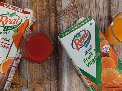 Real Activ Fruit Veggie Juices Review