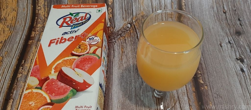 Real Activ Mixed Fruit Juice Review