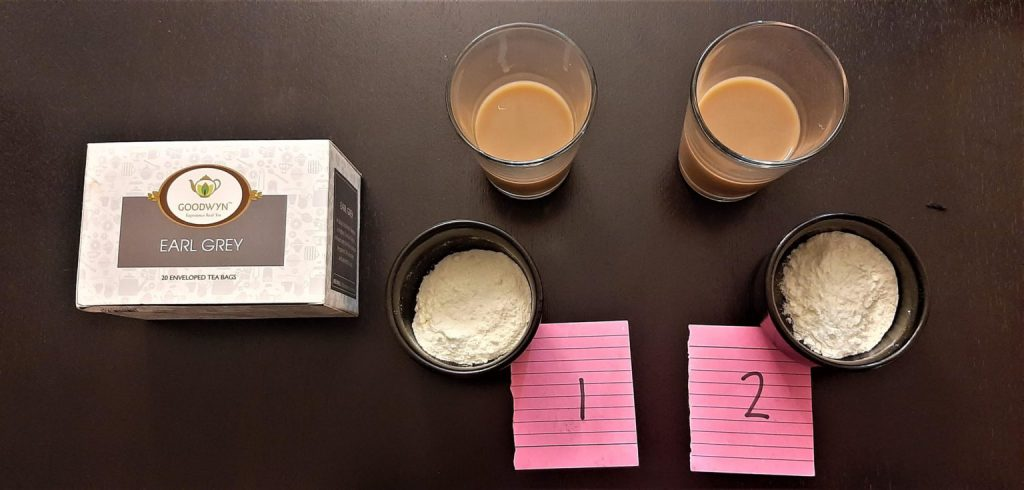 Stage 3 – Tasting session with tea