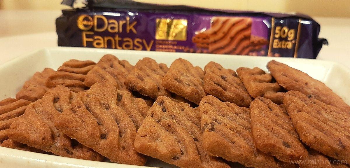 Sunfeast Dark Fantasy Cookies Review