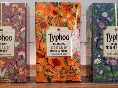 Typhoo Herbal Tea Review - 3 Flavours