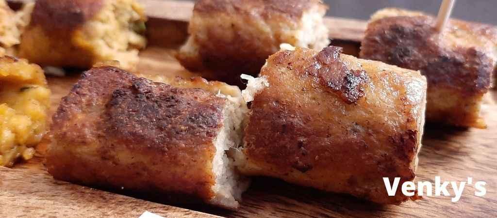 Venky's Chicken-Seekh-Kebab
