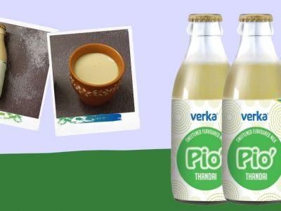 Verka Pio Thandai Flavoured Milk Review
