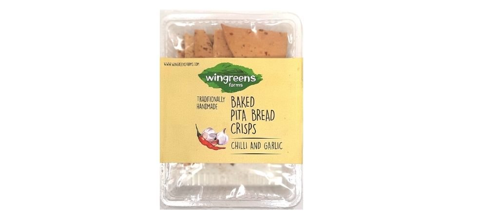 Wingreens Farms Baked Pita Bread Crisps