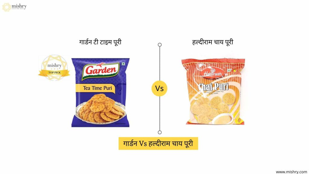 garden vs haldiram chai puri