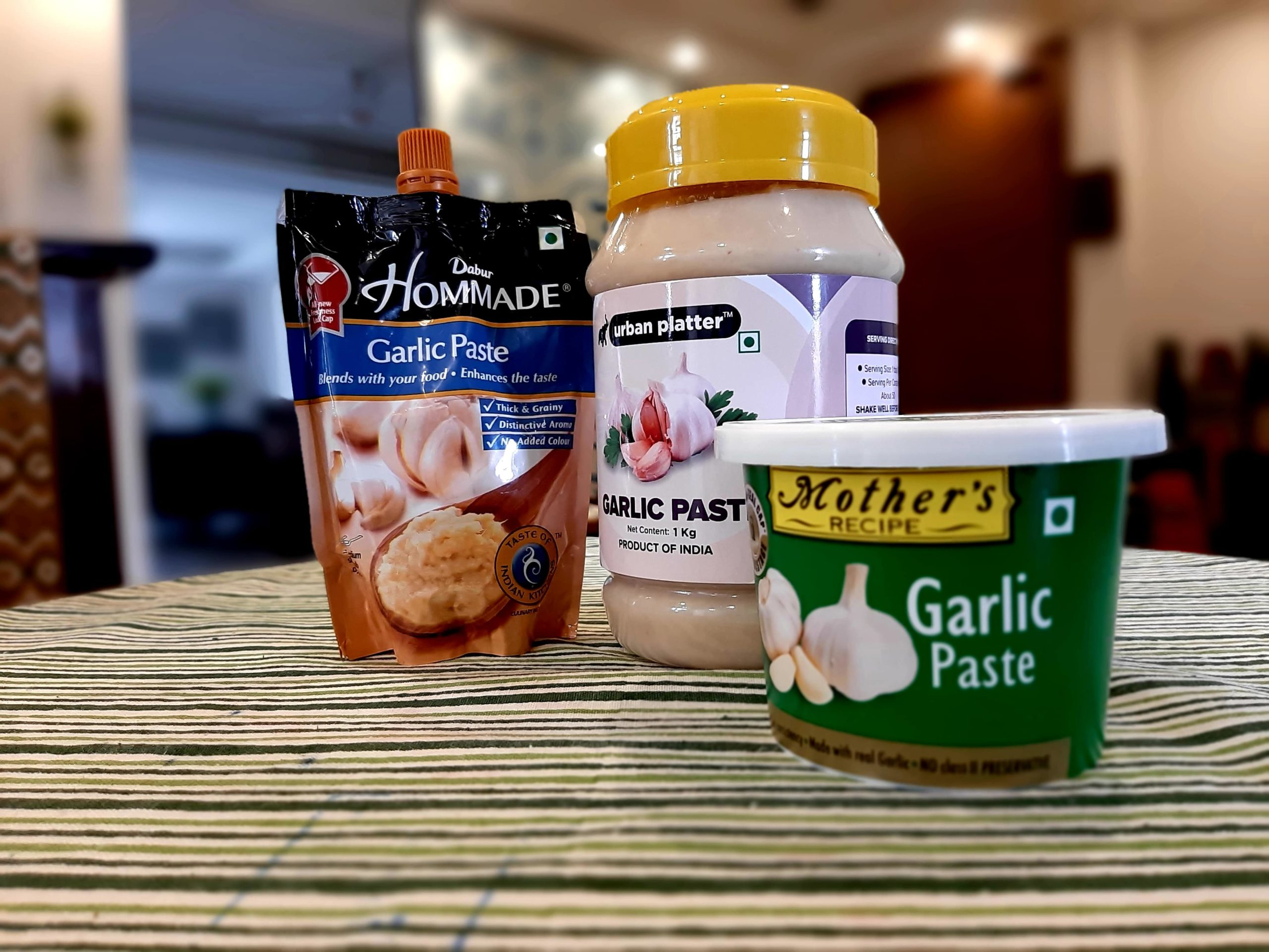 garlic paste-mishry