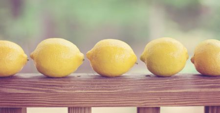 lemon can be used as room freshener