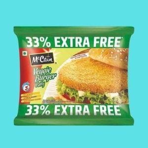 maccain veg burger patty