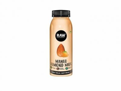 raw-pressery mango almond milk