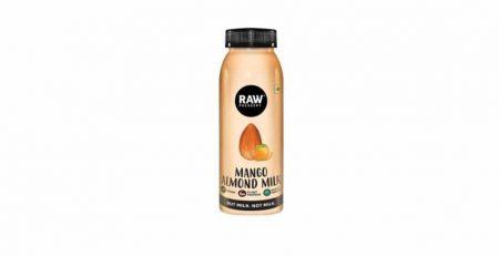 raw-pressery mango almond milk