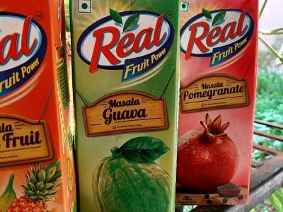 real fruit juices