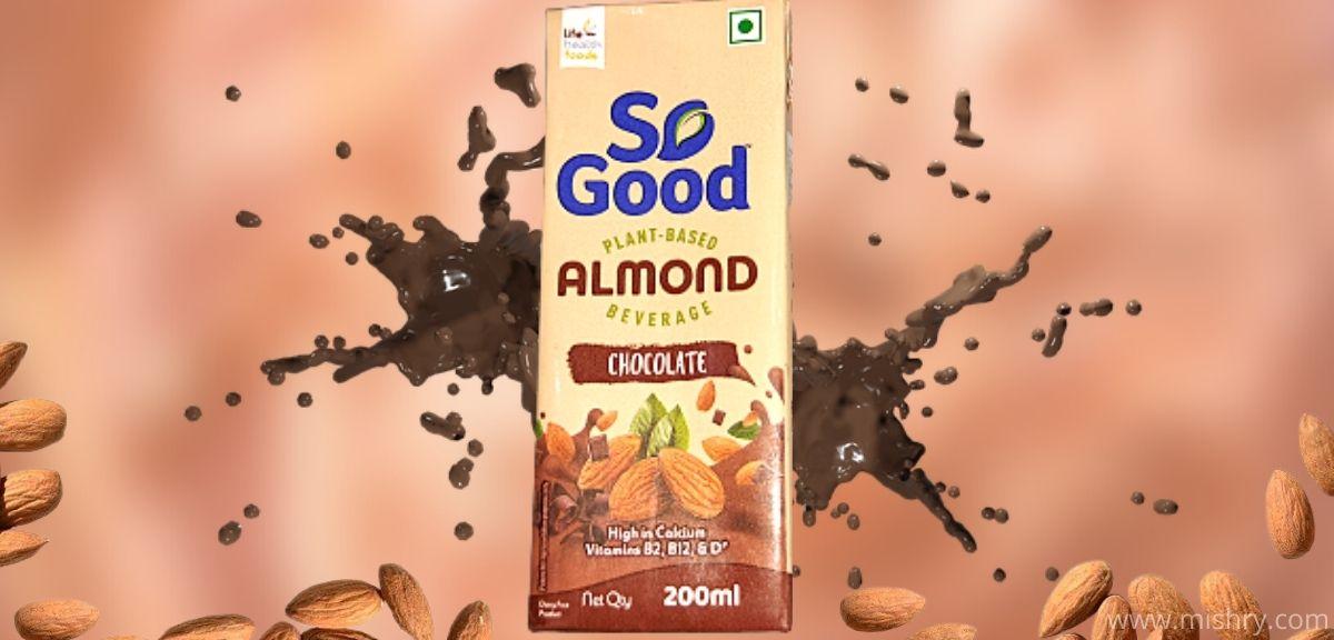 so good chocolate almond milk review